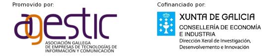 Promueve: Agestic, Cofinancia: Xunta de Galicia, Consellería de Innovación e Ind